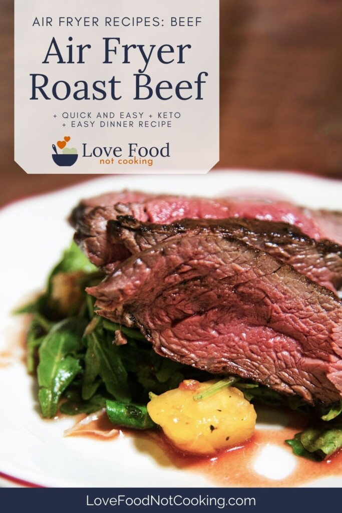 Air Fryer Roast Beef Pin