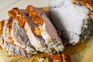 Air Fryer Roast Pork Loin