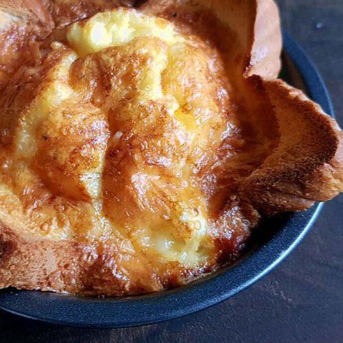 Air Fryer Cheesy Toast Quiche