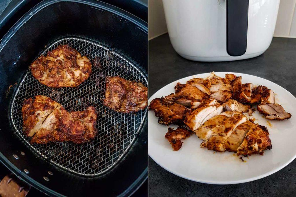 Chicken thighs in air fryer