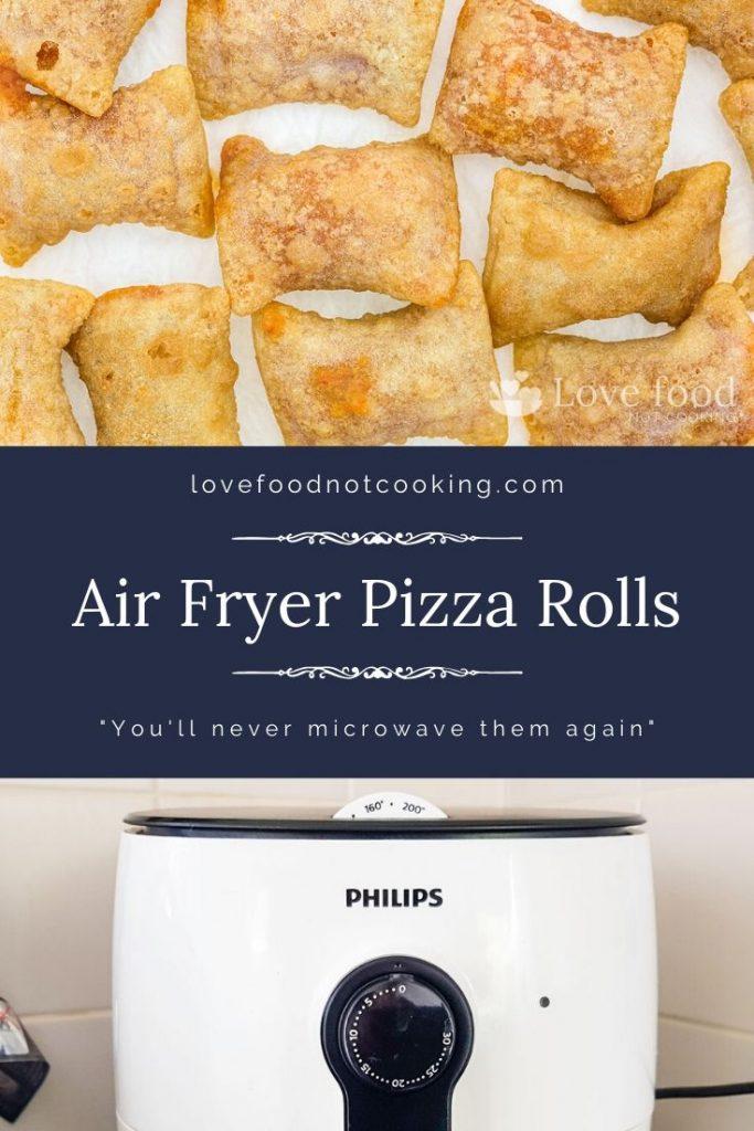 Air Fryer Pizza Rolls Pin