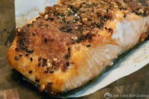 Air Fryer Baked Salmon