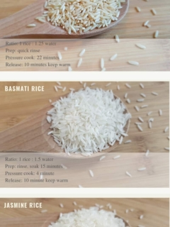 Instant Pot Rice Guide