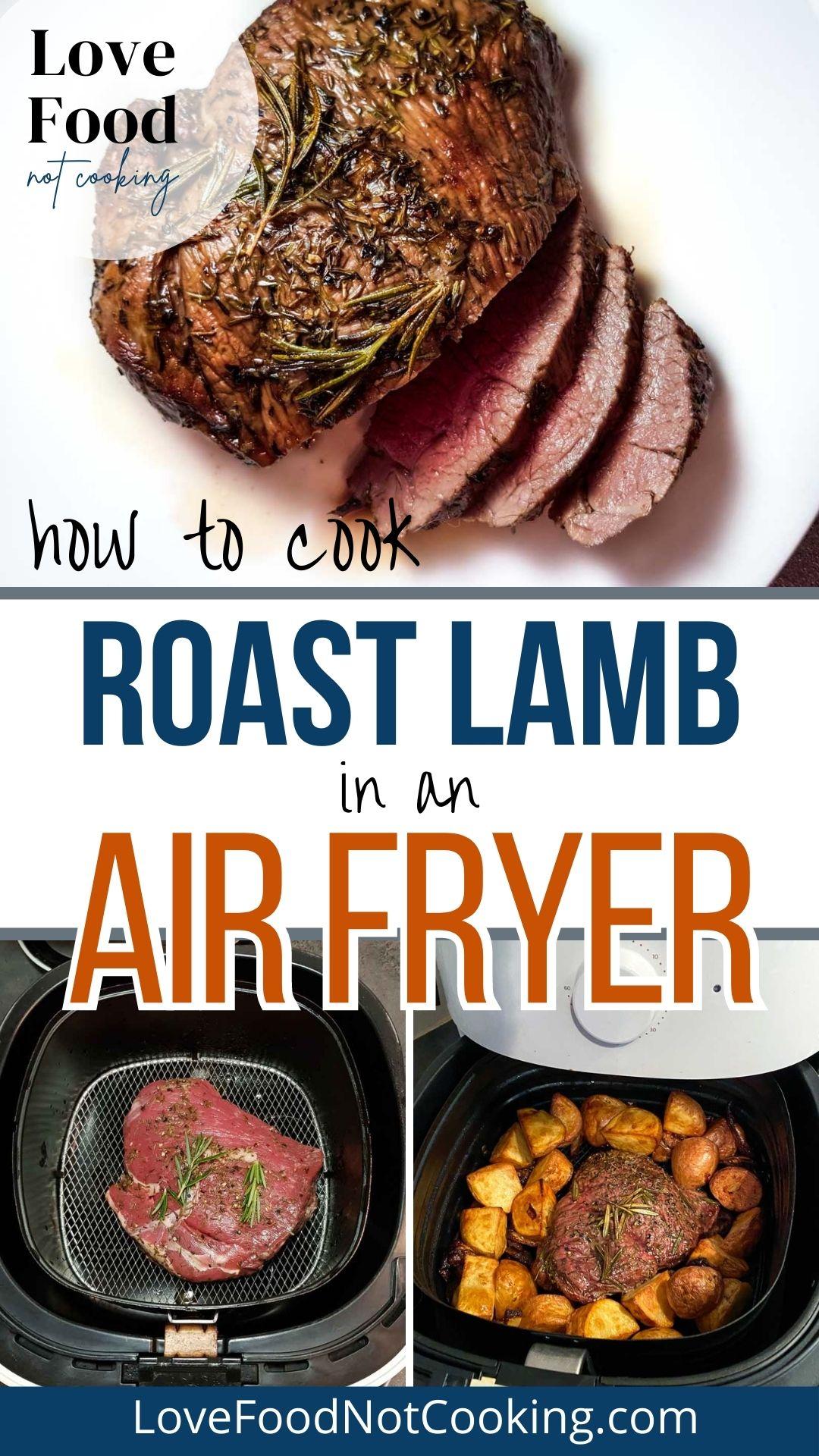 Air fryer roast lamb pin