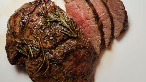 Air fryer roast lamb