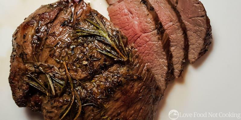 Air fryer roasted lamb