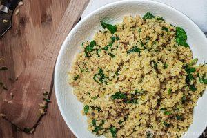 Lemon Bulgur Wheat