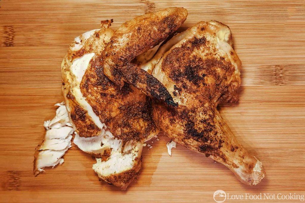 Air Fryer Half Chicken