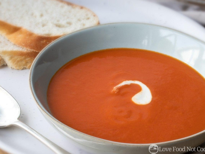 Tomato soup with canned tomatoes